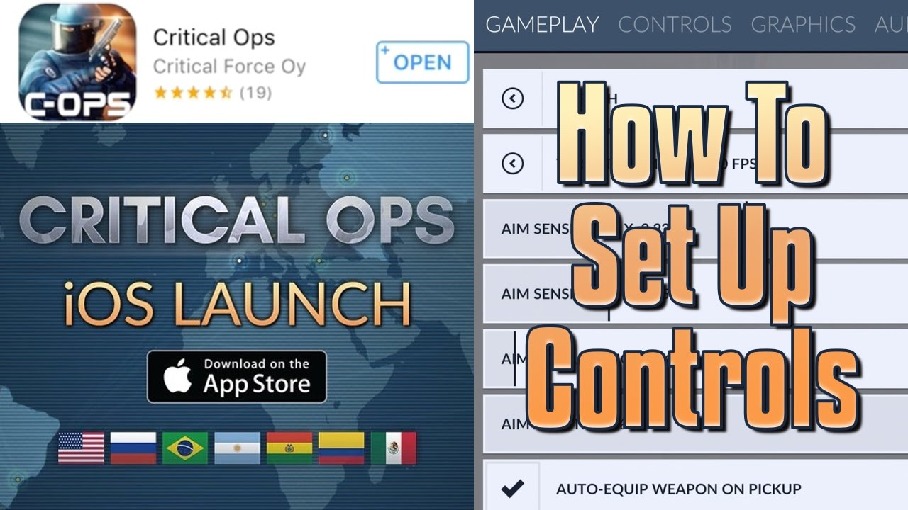 Critical Ops is HERE! - HOW TO SET UP YOUR CONTROLS - Worldwide ...