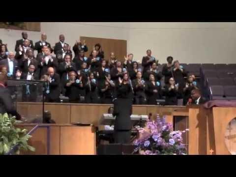 R Carter Leading Mass Choir
