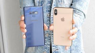 iPhone Xs Max vs Samsung Galaxy Note 9 | PORÓWNANIE z żalem ⛔️💰