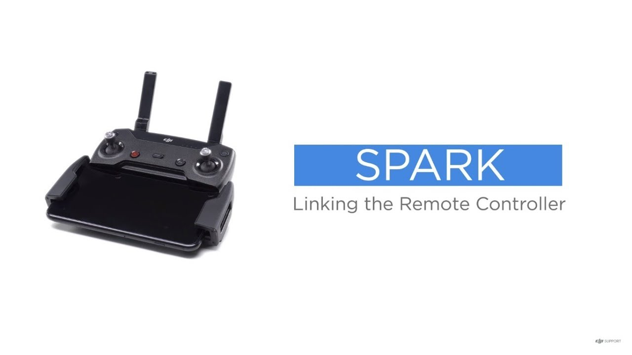 ef891b94ee5 How to Link DJI Spark's Remote Controller - YouTube