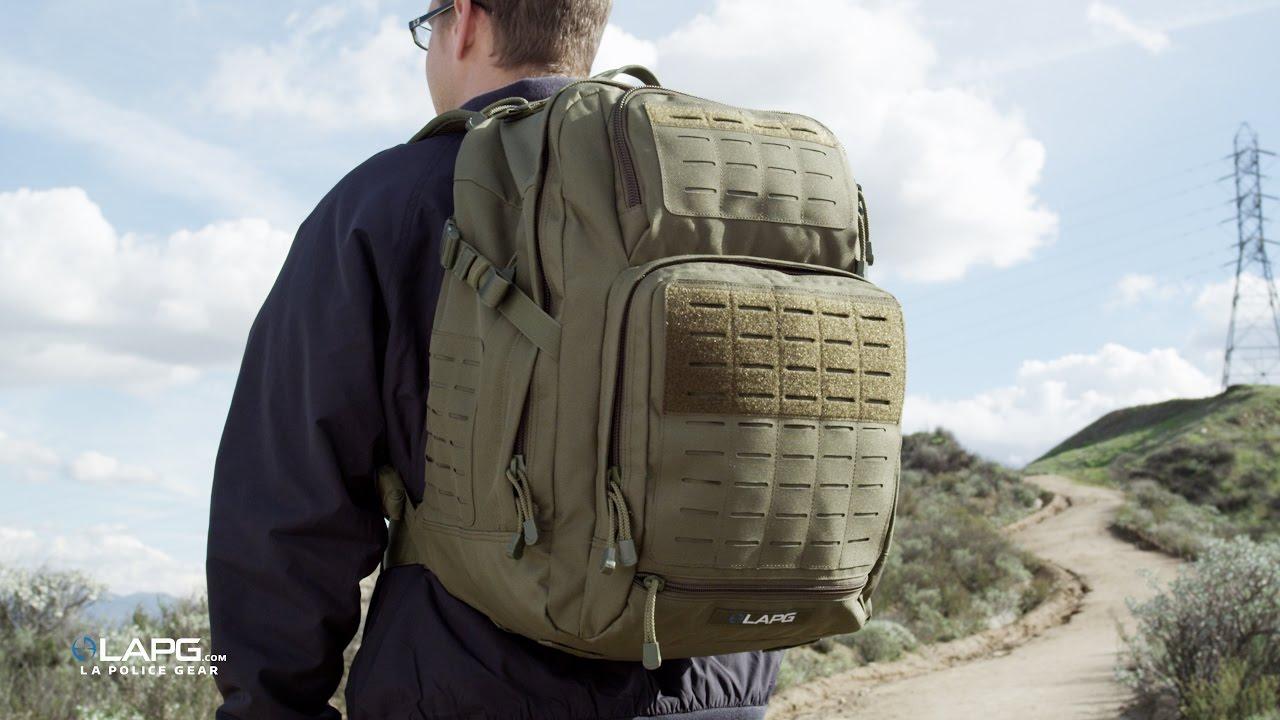 LA Police Gear Atlas™ 24 Hour Tactical Backpack