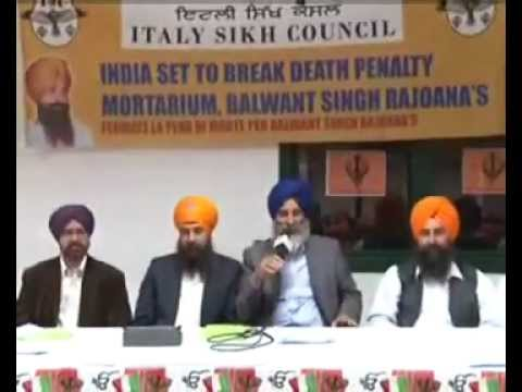 LIVE-DISCUSSION SHOW FROM SIKH COUNCIL ITALY ON RAJOANA.