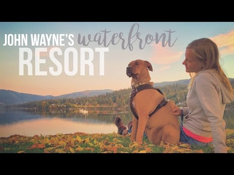 John Wayne's Waterfront Resort in Sequim, Washington - a Drivin' & Vibin' Travel Vlog