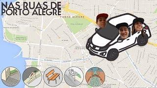 NAS RUAS DE PORTO ALEGRE com Lucas Rabelo, Monica Torres e Abe