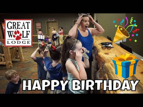 GREAT WOLF LODGE NEW ENGLAND BIRTHDAY SURPRISE!