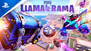 Rocket League x Fortnite - Llama-rama Crossover Event Trailer | PS4