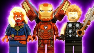 LEGO AVENGERS INFINITY WAR THE MOVIE - ENDING - AVENGERS WIN - MARVEL STOP MOTION