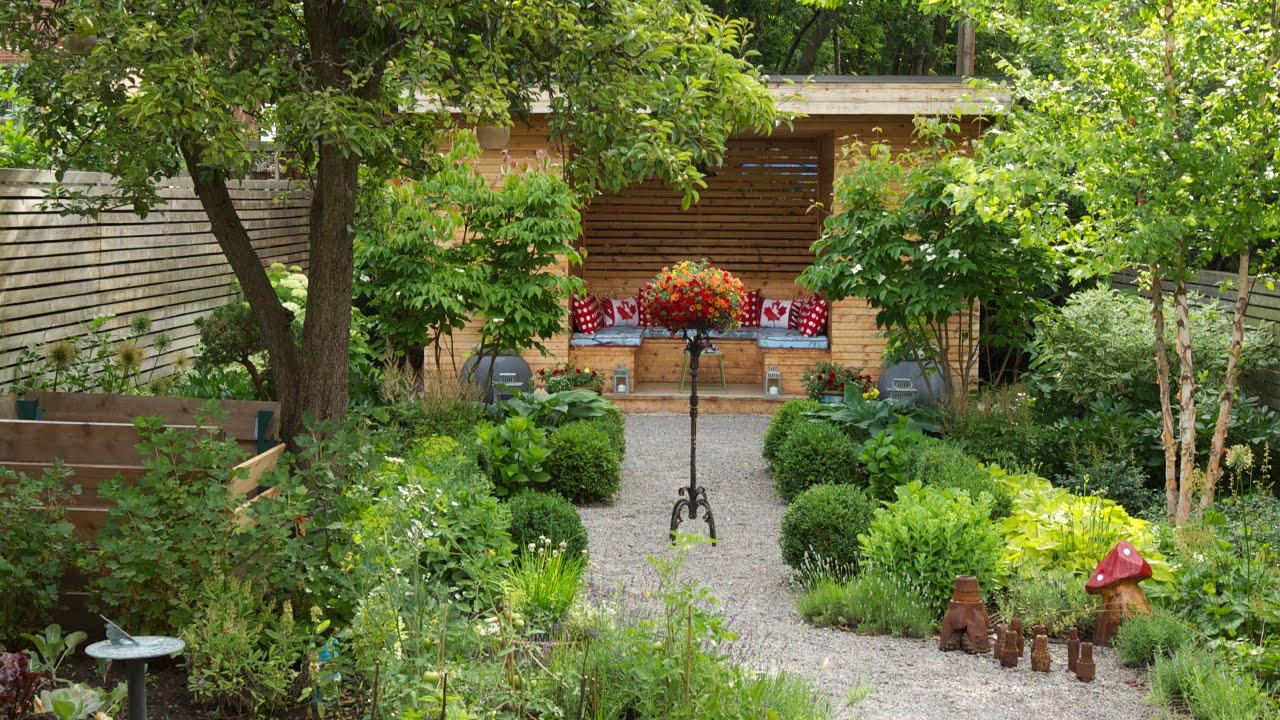 Gardening  A Gardeners Dream Backyard Makeover - YouTube