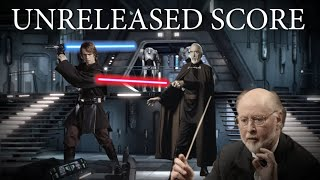 Star Wars: Ep III - Anakin VS Dooku/Tyranus - ROTS {Unreleased John Williams Score}.