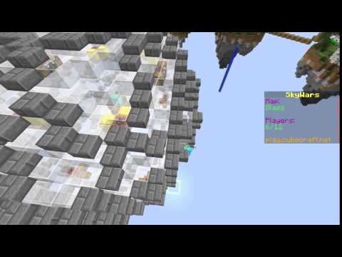 A hacker on cubecraft is flying!!!  -Hacker catching