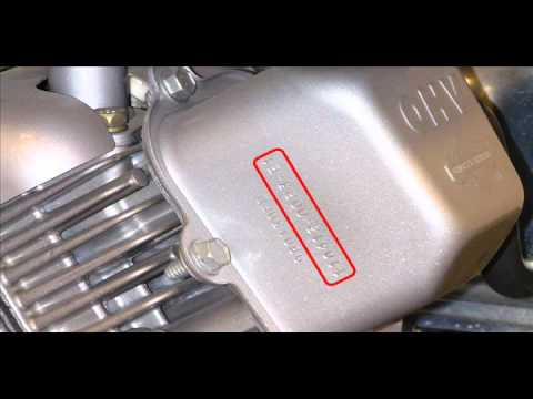 Briggs and Stratton Engine Model Number and Serial Number Locations