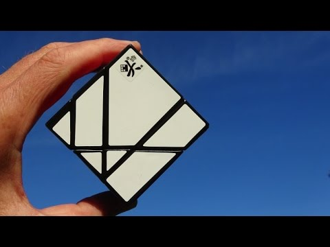 DaYan Tangram Cube Puzzle unboxing (Now...