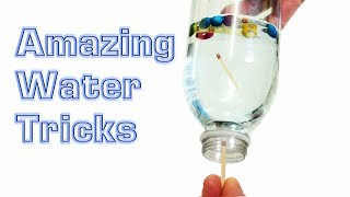 Amazing Water Science Experiment Tricks
