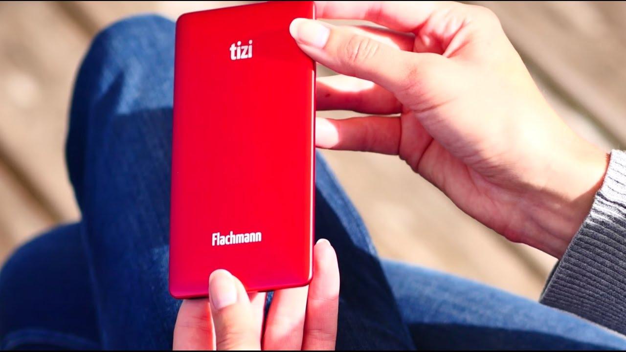 Extrem dünne Powerbank mit integriertem Lightning-Kabel für iPhone ...