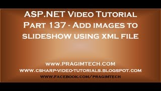 Add images to slideshow using xml file   Part 137