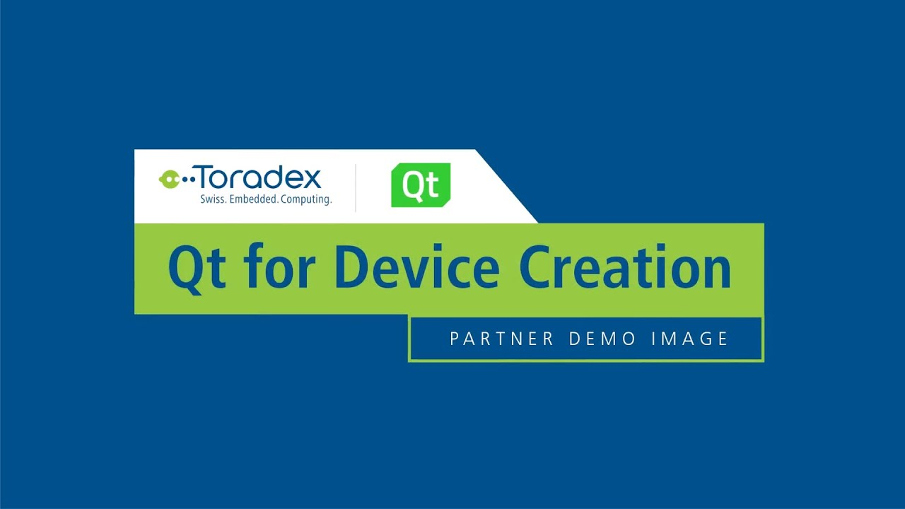 Partner Demo Image - Qt for Device Creation