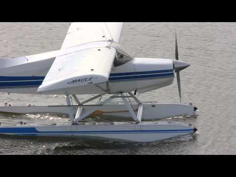 [HD] Maule M-5-235C On Floats Run Up & Takeoff CSU3