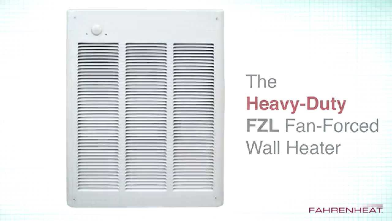 Fzl Fan Forced Wall Heaters Youtube Marley Electric Heater Wiring Diagram Engineered Products