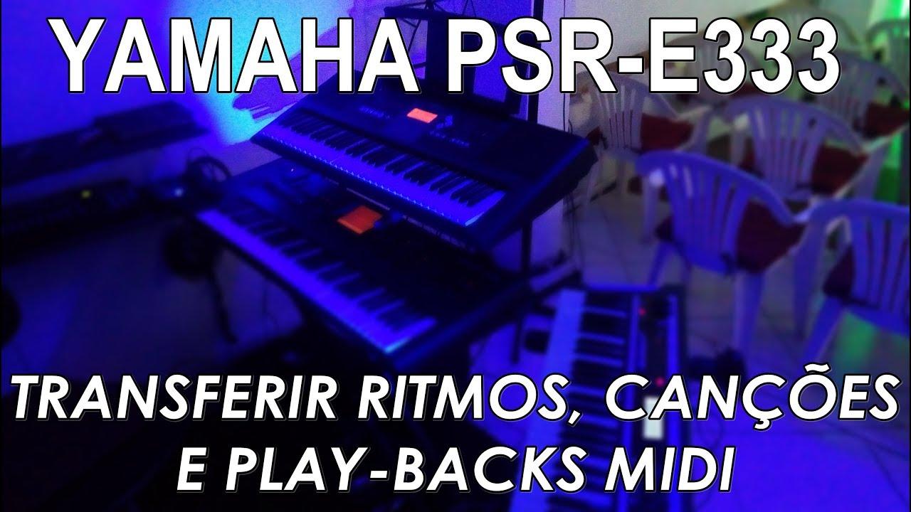 ritmos yamaha sty