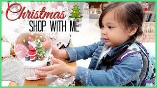 CHRISTMAS SHOP WITH ME 2017   TJ Maxx & Hobby Lobby