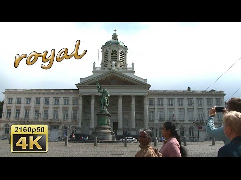Brussels, from north to south - Belgium   4K Travel Channel