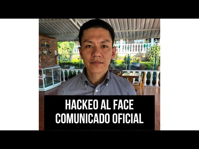 HACKEO DE MI FACEBOOK COMUNICADO