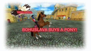 Star Stable - Buying a pony  (in non star rider account)