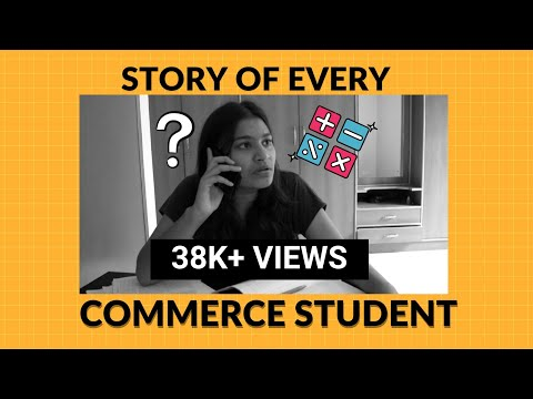 Story Of Every Commerce Student | Radical Desi