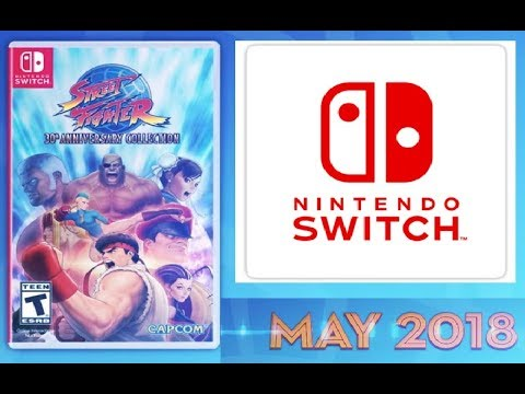 Street Fighter 30th Anniversary Collection Heading To Nintendo Switch