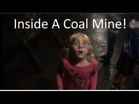 Inside A Real Coal Mine! Pioneer Coal Mine Tour, Ashland PA