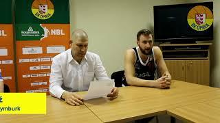 Ohlasy trenérů po utkání BK Opava - ČEZ Basketball Nymburk
