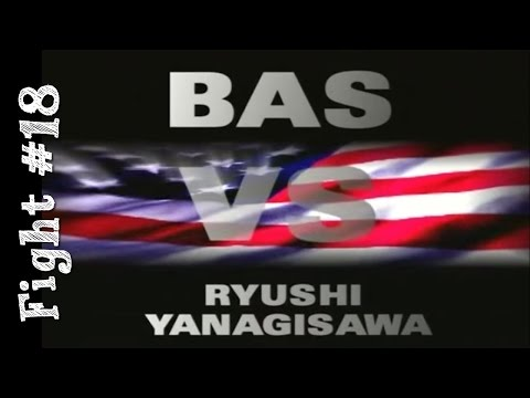 Bas Rutten's Career MMA Fight #18 vs. Ryushi Yanagisawa