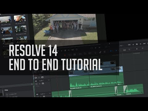 How To Make Stuff In Resolve 14!  - End To End DaVinci Resolve Editing Tutorial