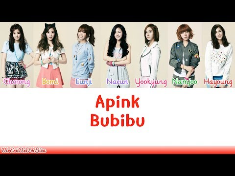Apink (에이핑크): Bubibu Lyrics
