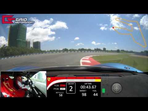 [Pt. 2] NEW Video VBox HD2 - Ferrari 458 Challenge ZIC國際珠海賽車塲