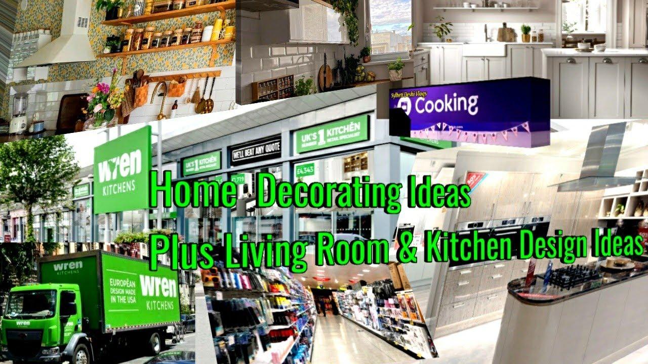 Home Decorating Ideas Plus Living Room & Kitchen Design Ideas 2021