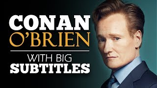 ENGLISH SPEECH | CONAN O'BRIEN: Failure Happens (English Subtitles)