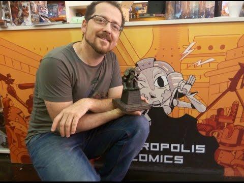 Magic: Luna de horrores. Presentación en Metrópolis Comics