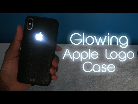Glowing Apple Logo on iPhone X • BEST iPhone Case Ever!
