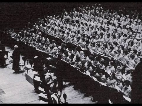George Lynn Conducting Leonard Bernstein's Chichester Psalms, Part III   The Westminster Choir Colle