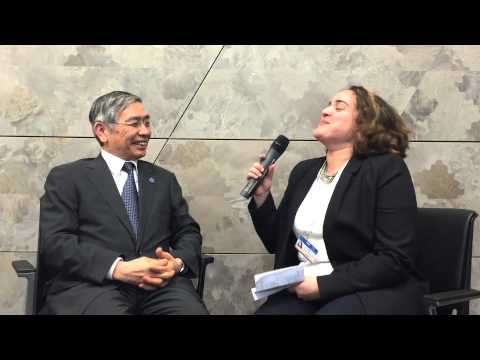 Haruhiko Kuroda, governor of Bank of Japan - View from ADB 2015
