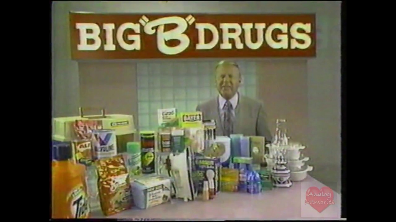 Big B Drugs Featuring Dick Van Patten  Television -7523