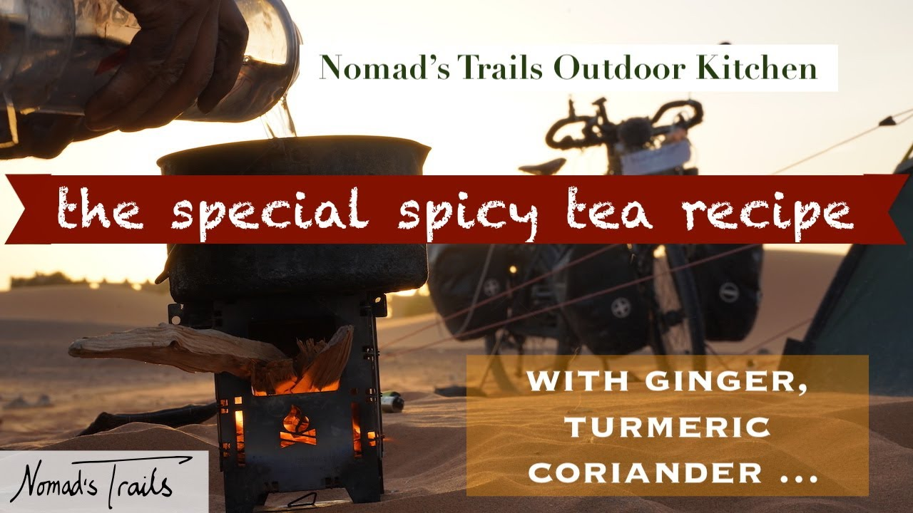 Special Spicy Tea Recipe – with ginger, turmeric, coriander... – Nomad's Trails Outdoor Kitchen