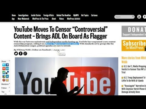 The YouTube Purge Against Independent News Is HERE
