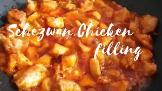 How to make chicken filling