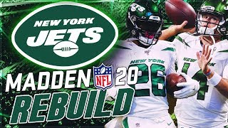 Rebuilding The New York Jets | Sam Darnold + Le'Veon Bell Become Elite Duo | Madden 20 Franchise