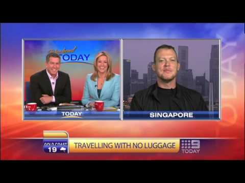 No Baggage Challenge: Adelaide TV Interview