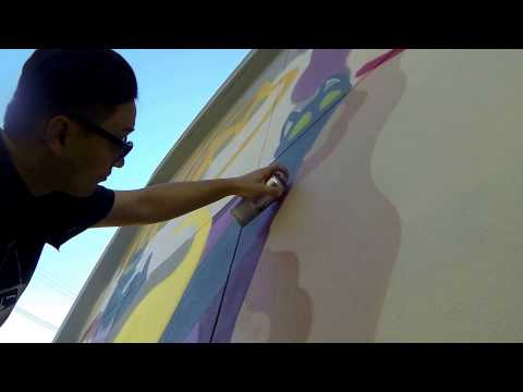 MR. KIJI x GOLD LINING SAN FRANCISCO POV PAINTING
