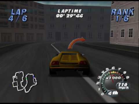 Automobili Lamborghini (N64) Novice tournament - Lamborghini Diablo Speedrun