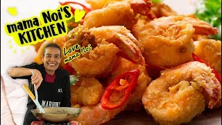 Thai Crispy Garlic Shrimp - Marion's Kitchen